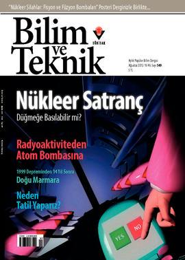 Bilim ve Teknik - #549 - 2013 - Ağustos