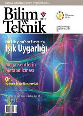 Bilim ve Teknik - #574 - 2015 - Eylül